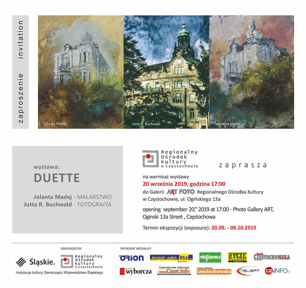 """Ausstellung """"Duette"""" 2019"""